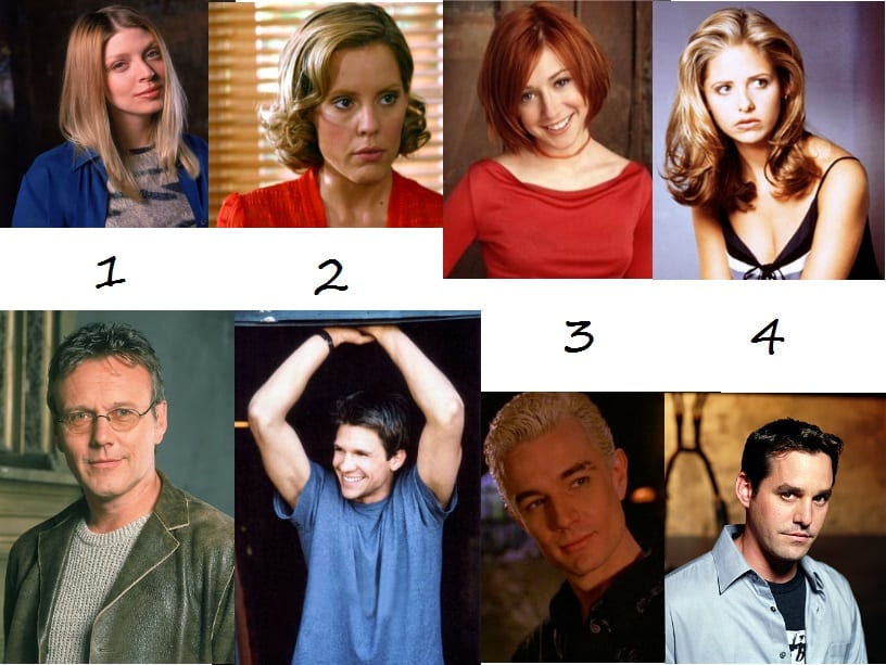 Buffy Full cast