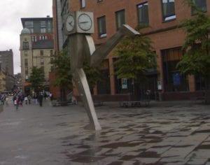 Glasgow clock